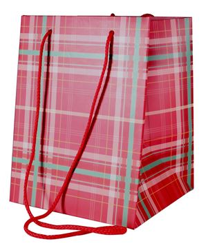 Picture of Tartan Gift Bag (10 pack)