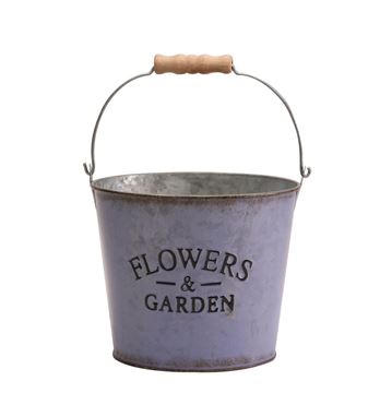 Picture of Lilac Flowers & Garden Bucket