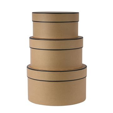 Picture of Kraft Hatboxes (Set of 3)