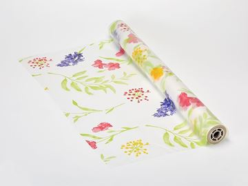 Picture of 50m Watercolour Garden Biodegradable Frosted Wrap